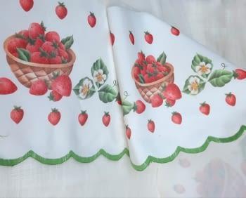 Greca fresas verde - 3