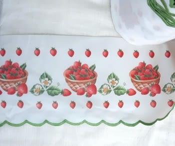 Greca fresas verde - 4