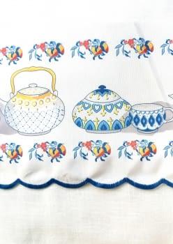 Greca teteras azul - 4