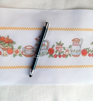 Greca cocina naranja