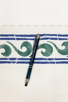 Greca ondas verdosa - 1