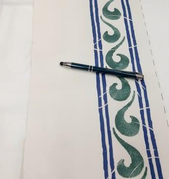 Greca ondas verdosa - 2