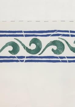 Greca ondas verdosa - 5