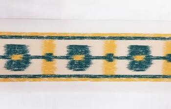 Greca abstracta verde - 1