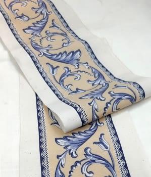 Greca azul/amarillo