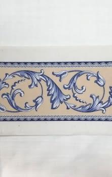 Greca azul/amarillo - 2