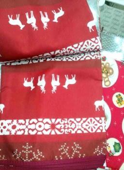 Mantel Navidad reno 150 x 200