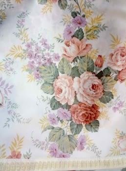 Faldillas raso flores - 2