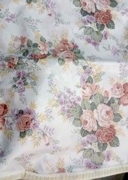 Faldillas raso flores - 3