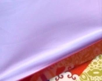 Faldilla raso lila - 1