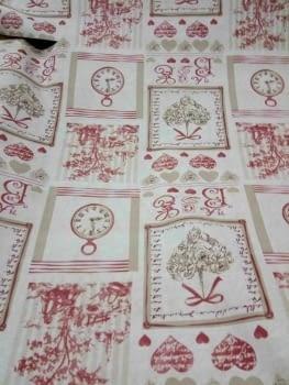 Hule textilfy toile de jouy - 2