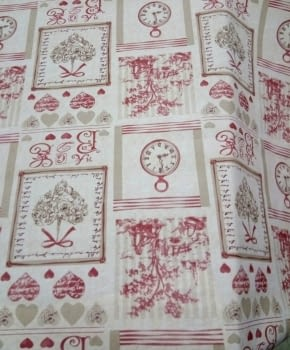 Hule textilfy toile de jouy - 3