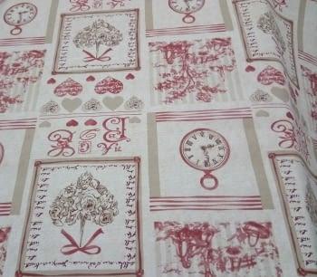 Hule textilfy toile de jouy - 4