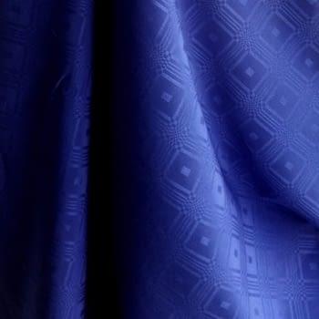 Crep adamascado azulón - 1
