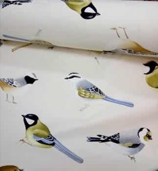 Tela cretona pájaros THEVENON 50 x 140
