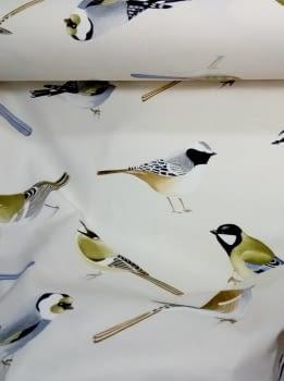 Tela cretona pájaros THEVENON 280 - 3