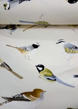 Tela cretona pájaros THEVENON 280 - 4