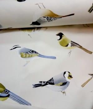 Tela cretona pájaros THEVENON 280 - 6