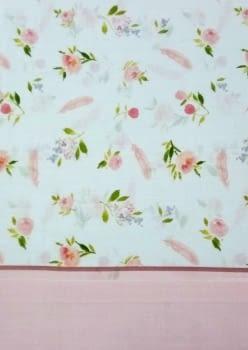 Juego de sábanas rosa - 1