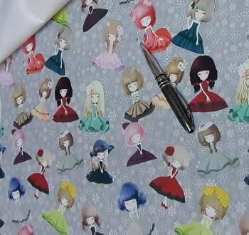 Tela PVC textilfy muñecas - 1