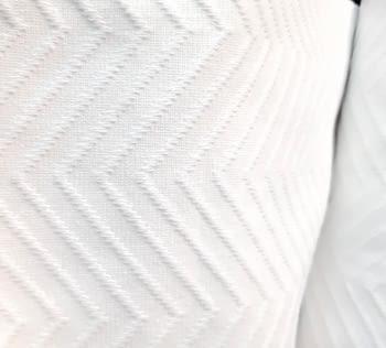 Piqué blanco espiga - 3