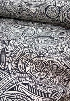 Tela loneta azteca 1,20 x 2,70 - 2