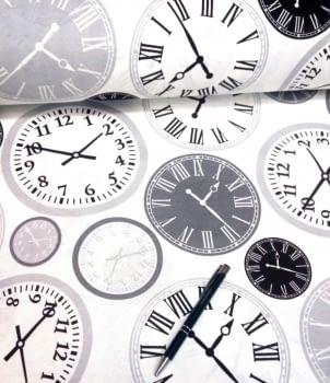 Loneta relojes gris 280