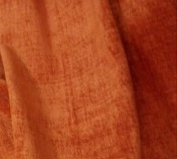 Tela chenilla naranja caldero - 3