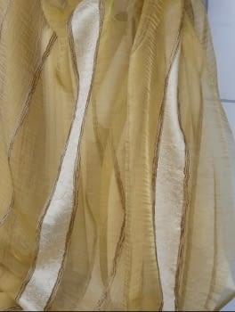 Organza amarillo oro - 3