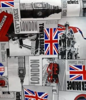 Tela loneta London 280 - 3