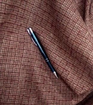 Tela lana cuadritos 75