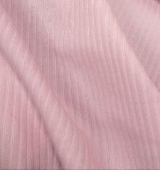 Tela punto rayas rosa