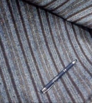 Tela lana rayas - 2