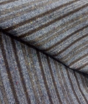 Tela lana rayas - 4