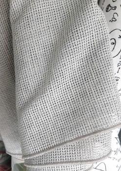 Tela malla gris claro - 7