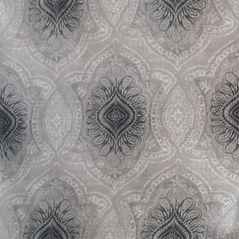 Tela cretona adamascado gris 280 - 6