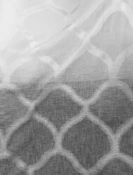 Tela degrade gris rombo - 2