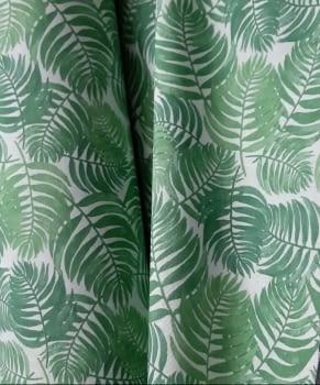 Tela hojas verdes 280 - 3