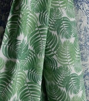 Tela hojas verdes 280 - 5