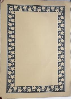 Alfombra beige greca 160 x 230