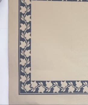 Alfombra beige greca 160 x 230 - 1