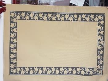 Alfombra beige greca 160 x 230 - 3