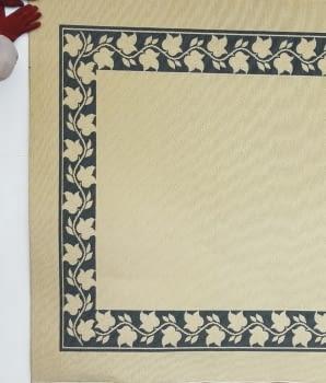Alfombra beige greca 160 x 230 - 4