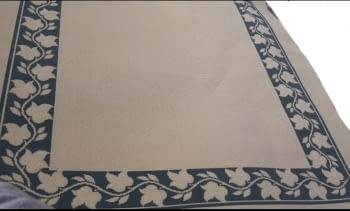 Alfombra beige greca 160 x 230 - 6