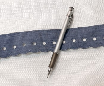 Puntilla azul - 1