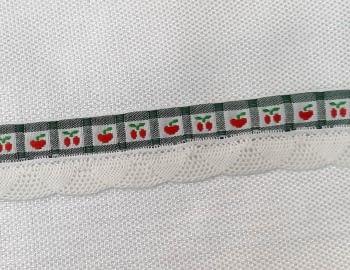 Puntilla cerezas verde - 1