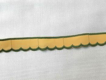 Puntilla amarilla verde - 1