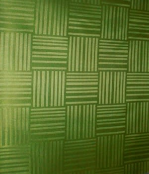 Tela resinada Verde
