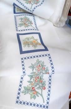 Greca cocina azul