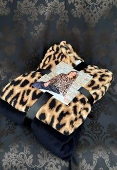 Pijama invierno leopardo